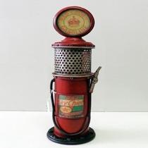 Miniatura Bomba Gasolina Retrô Vintage