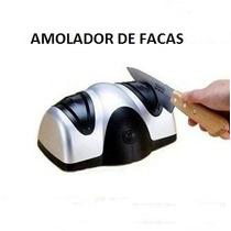 Afiador, Amolador Elétrico De Facas De Cozinha, 110 Volts.