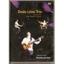 Dvd Dudu Lima Trio - Ao Vivo No Cine Theatro Central - Novo