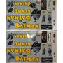 Adesivo Colante Para Bike Infantil Batman Frete Grátis