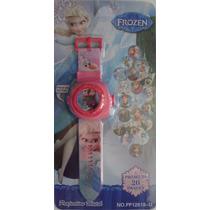 Relógio Projetor De Luz Com Slides Do Filme Frozen Disney