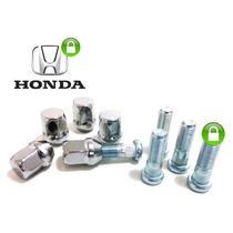 Cj. Parafuso+porca Roda Honda Civic, Fit, City, Cr-v,..(5)