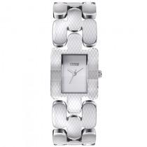 Relógio Storm S.lustra Sxsx Quad Feminino Prata - Refinado
