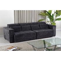 Sofa Retratil 2 Lug P/ 4 Pessoas Novo