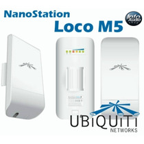 Kit - 10 Unid. Nanostation Nano Loco M5 5.8 Ghz Mimo 13 Dbi
