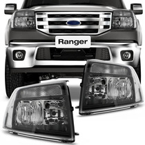 Farol Ranger 2010 2011 2012 Mascara Negra Esportivo Ford