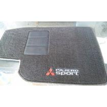 Tapetes Automotivos Personalizados Pajero Sport