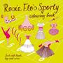 Livro Para Colorir - De Rosie Flo Sporty Crianças Roz Stree