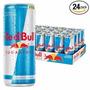 ((24 Unidades))energetico Red Bull Sugafree 250ml (s/açucar)