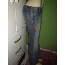 Calça Jeans Marca Feminina Tamanho 38