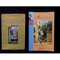 2 Livros O Cortiço/o Mulato - Aluisio Azevedo
