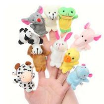 Brinquedo Fantoche Dedo Para Brincar E Divertir O Seu Bebê