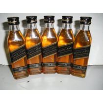 Kit Com 12 Miniatura Whisky Johnnie Walker Black Label