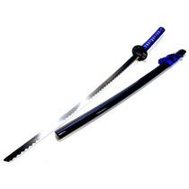 Espada Samurai Azul Lisa Mod 14059