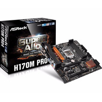 Kit Asrock H170m Pro4 + Intel Core I5-6400 + 8gb Ddr4