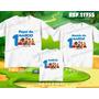 Kit Camisetas Personalizadas Aniversario Cocoricó Turma