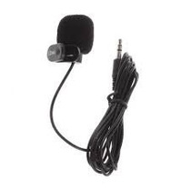 Kit 2 Microfones De Lapela 3,5mm Stéreo Profissional Atacado
