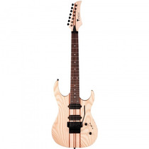 Guitarra Eagle Egt-66 Stnt Natural Special 7 Corda- Refinado