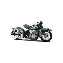 Moto Metal 1:18 Maisto Harley Davidson 1936 El Knucklehead