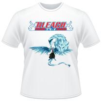 Camiseta Bleach Toushiro Hitsugaya Bankai Verso Anime Camisa