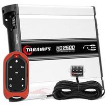 Módulo Amplificador Taramps Hd-2500 + Controle Tlc-3000