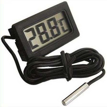 Termômetro Digital Com Sensor Terrários Aquários Freezer
