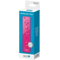 Controle Wii Remote Plus Rosa Com Motion Plus Para Wii U
