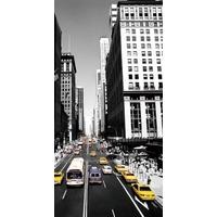 Quadro 3d New York Moldura Alumínio - Frete Grátis Brasil