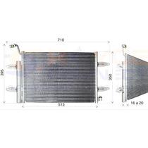 Condensador Vw Gol G5 G6 Voyage Fox Com Filtro Secador