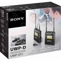Microfone Sony Uwp-d11 Lapela Sem Fio D11 V1