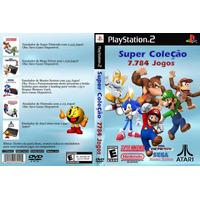7784 Jogos De Snes, Mega, Master, Nintendinho, Atari - Dvd-r