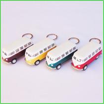 Chaveiro Kombi Volkswagen Miniatura Latão Coleção Decoração