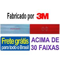 Faixa Refletiva Caminhao Vans Onibus Caçambas (padrão 3m)