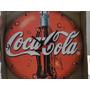 Relogio Coca Cola 29 Cm Tampinha Garrafinha Cocacola