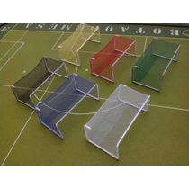 Par De Traves Coloridas Futebol De Mesa-botão