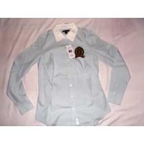 Camisa Social Feminina Tommy Hilfiger Tam P