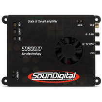 Modulo Amplificador Soundigital 600w Rms Sd600 1d 2 Ohms