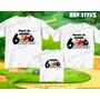 Kit Camisetas Personalizadas Aniversario Angry Birds Festa