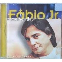 Cd O Melhor De Fabio Jr - Produto Original Code 10