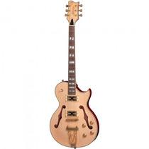 Guitarra Golden Gsh-570 Nt Les Paul Semiacústica - Refinado