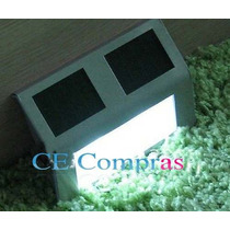 Luminária Solar P/ Escada E Parede Com Frete Grátis