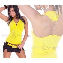 Blusas Regatas Feminina Croped Tule Camiseta Feminina Malha