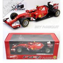 1/18 Hot Wheels Ferrari Turbo F14t Kimi Raikkonen F1 2014
