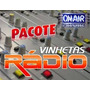 Pacote De Vinhetas- + 800 Para Rádio,web-radio E Djs