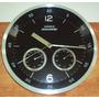 Relógio Parede Iron Termômetro Higrômetro Inox 30cm Kienzle