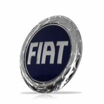 Emblema Grade Diant Uno/fiorino Fire 00/01/02/03 Azul Fiat