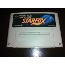 Star Fox Original Japonês - Jogo De Super Nintendo R$50,00!!
