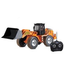 Trator Truck Pá Carregadeira Contruçâo Controle Remoto R/c