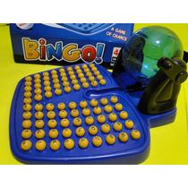 Globo Bingo Acrilico Importada Jogo 90 Bolas 48 Cartelas