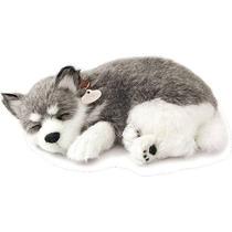 Cachorro Husky Siberiano Que Respira Perfect Petzzz Pelúcia